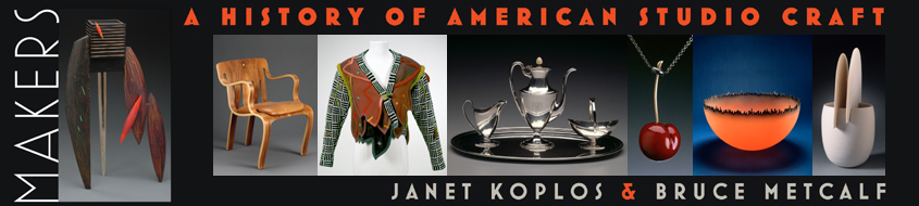 Textbook Makers: A History of American Studio Craft by Janet Koplos and Bruce Metcalf